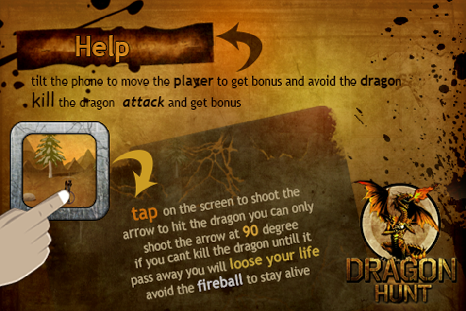 Screenshot Dragon Hunt Free